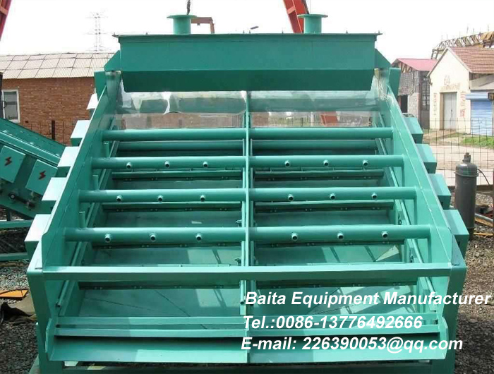 Electromagnetic high frequency vibrating screen-Electromagne